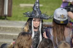 Slet čarodějnic a čarodějů 30.4.2018