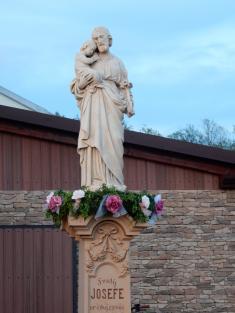 Pobožnost u sochy sv. Josefa 1.5.2018