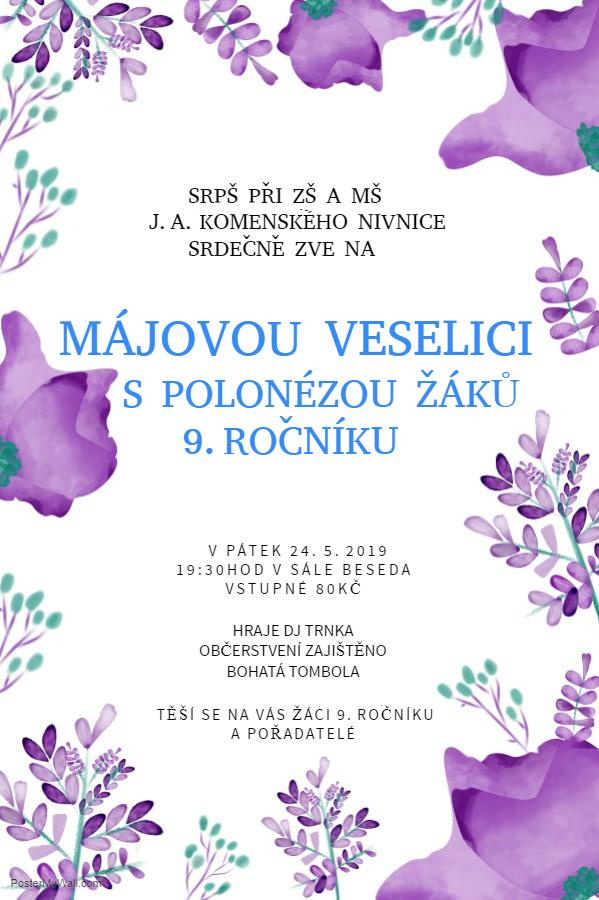 Májová veselice 2019