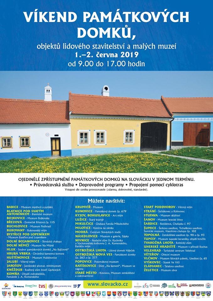víkend památkových domků 2019