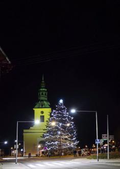 Rozsvícení vánočního stromu 2019