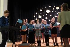 Vánoční koncert školního pěveckého sboru + jarmark 2019