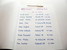 Vítání občánků březen 2012